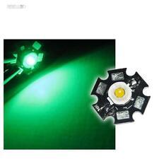 10x Hochleistungs LEDs Chip 1W GRÜN HIGHPOWER STAR LED