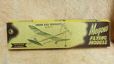 MEGOW SPEEDY FLYING MODELS SENIOR R.O.G. ENDURANCE #C11 BALSA WOOD AIRCRAFT SH1C