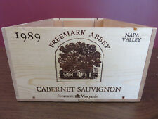 1989 FREEMARK ABBEY SYCAMORE NAPA VALLEY WOOD WINE BOX/CRATE/CASE