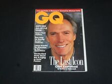 1993 MARCH GQ MAGAZINE - CLINT EASTWOOD COVER - SP 5862
