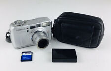 PENTAX Pentax Optio 555 5.0MP Digital Camera - Silver With Memory Card & Case