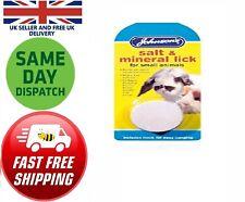 Johnsons Salt Mineral Lick 30gm Rabbit Pig Gerbil  Hamster Calcium Iron Grit