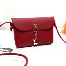 Fashion Vintage Women Leather Handbag Cross Body Shoulder Tote Messenger Bag