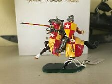 Roy Selwyn Smith Knight - Earl of Oxford Mounted with Lance - MIB