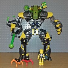 LEGO HERO FACTORY - 44022 - EVO XL MACHINE - GREAT CONDITION INC FIGS + SPHERE