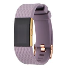 FAIR Fitbit Charge 2 Fitness Wristband Special Edition - Large - Lavender & Gold
