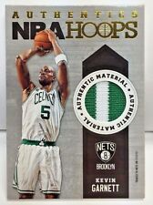 Kevin Garnett 2014-15 Panini NBA Hoops Authentics PRIME 2 color GU Patch CELTICS