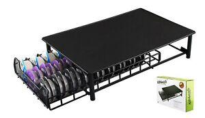 Tassimo Coffee Pod Holder sliding drawer - 60 Capsules/ Pod Tray - Black Metal