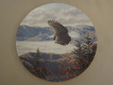 BALD EAGLE collector plate MOUNTAIN MAJESTY Robert Richert AMERICA'S PRIDE #6