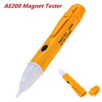 AE200 Auto Car Magnet Tester Non-contact Pen Tool with LED Flashing Light