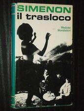 Georges Simenon - IL TRASLOCO - Medusa Mondadori 1968 1a edizione italiana