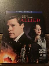 Blu-Ray - Allied (2017, **No Digital**) w/ RARE & OOP Slipcover