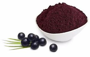 Acai Berry Powder (Freeze Dried) 100% Pure Premium Quality! Select Size 25g-450g