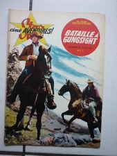 STAR CINE AVENTURES  70  /  BATAILLE A GUNGSIGHT /  JUILLET  1961