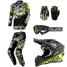 ONeal Element Attack motocross dirt bike gear - Helmet Jersey Pants Gloves set