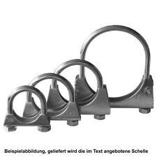 1x HJS 83009012 Bügelschelle Auspuff Schelle Rohrverbinder M10 x 60