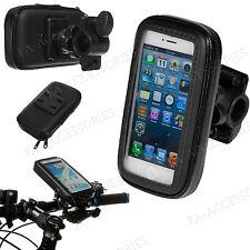 Regen Wasserfest Fahrrad Lenkerhalterung Halter Hülle für Viele Handy Telefone