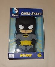 "DC COMICS CHARA-BRICKS BATMAN BLACK 7"" VINYL SDCC 2013 Comic-Con RARE 1 of 250!"