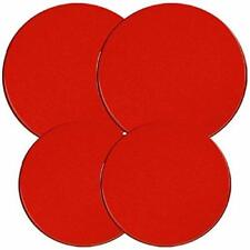 Reston Lloyd Electric Stove Burner Covers Set of 4 Red