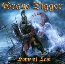 Home At Last +extra songs  GRAVE DIGGER CD ( FREE SHIPPING)