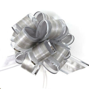 """Allgala 12-pc 6"""" Large Everyday Pull Bows, Various Designs Available"""
