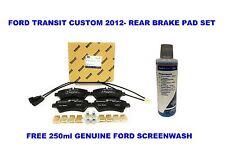 Genuine Ford Transit Custom 2012 Original Pastillas De Freno Trasero De Ford SCREENWASH Gratis