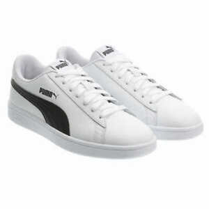 NEW Men's PUMA Smash V2 White Athletic Sneakers Softfoam Shoes Pick Size