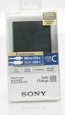 Sony Powerstation Powerbank Akku CP-V10B / B1 10000mAh mit Micro USB & USB-C