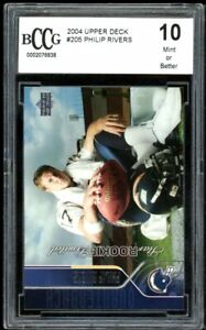 Upper Deck Rookie Football Trading Cards Philip Rivers For Sale Ebay