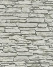 Tapete Novamur Steinoptik Mauer Steinwand 6721-10  Beige Grau / EUR 2,25 /qm
