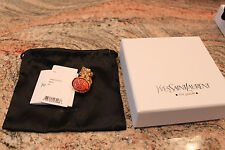NWT YSL Arty Ring Coral Size 7