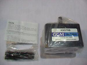 GGM Global Geared Motor Gear Head K9G75B