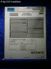 Sony Service Manual DCR TRV12E TRV14E TRV19 TRV19E ADJ Digital Video (#5720)