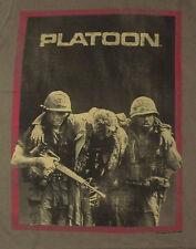 "NEW MENS S ""PLATOON"" T SHIRT, Military, War Army Green Tee"