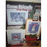 Snow Friends From Penny Lane Cross Stitch Chart - Stoney Creek - 6 Designs