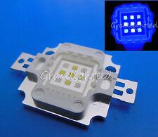 10W Super Actinic 5xCool White 10000K 4xRoyal blue Hybrid LED Light for Aquarium