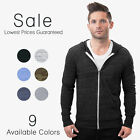 Alternative Apparel Lightweight Zip Hoodie Eco Heather Tri Blend Hoody AA1970