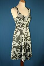 The Limited, Silver & Brown Dress Size 8, NWT, rrp $79.50.