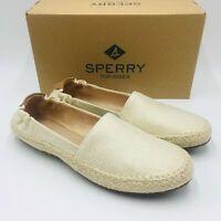 Sperry Top-Sider Women's Sunset Ella Espadrille Slip-On Flat Loafers, Linen