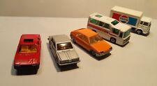 Konvolut-Majorette,Norev-Renault R11,Citreon BX,Saviem ,Oldsmobile,TWA Minibus !