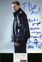 Donnie Wahlberg Blue Bloods Psa Dna Coa Hand Signed 8x10 Photo Autograph