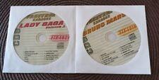 2 CDG KARAOKE DISCS LADY GAGA & BRUNO MARS 2011/2012 FTX 1021/1018 CD+G MUSIC CD