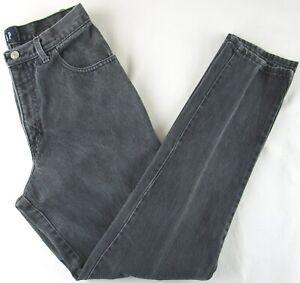 Gap Faded Black 5 Pocket Straight Leg Jeans, Juniors 11/12, Easy Fit