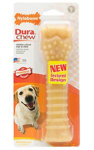 Nylabone DURA CHEW ORIGINAL FLAVOR Dog Chews MADE IN USA 5 SIZE CHOICES