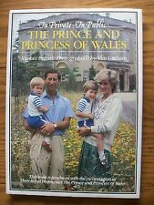 THE PRINCE & PRINCESS OF WALES ~ CHARLES & DIANA ~ IN PRIVATE IN PUBLIC ~ BURNET
