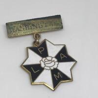 Vintage Unidentified Acronym Washington DC Enamel Pinback Pin