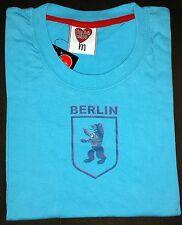 Girly Tshirt, SALE, BERLIN  Wappen  türkis M