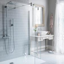 New York XL Flat Gloss Light Grey Metro Bathroom Kitchen Wall Tiles 10 X 30cm