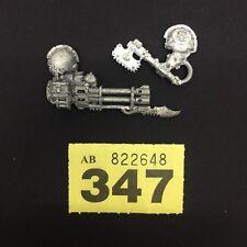 WARHAMMER 40,000 Marine del Caos Terminator ARMI Reaper Cannone Automatico Catena ASCIA fuori catalogo