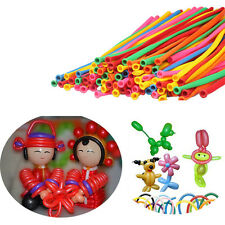200pcs New Balloons Different Colours Latex 260Q Traditional Modelling Stylish